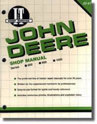 john deere 850 950 1050 tractor workshop manual repair manuals john deere 850 950 1050 tractor workshop manual