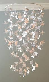 white baby chandelier baby nursery decor monkey