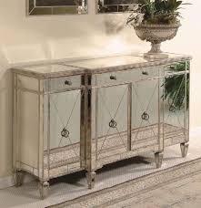 borghese mirrored furniture. borghese wood buffet server w antique silvertone finish u0026 beveled mirror front mirrored furniture r