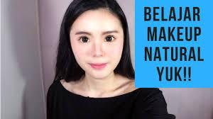 makeup untuk pemula yang natural ala korea sangat mudah