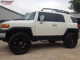 Toyota FJ Cruiser XD Series XD775 Rockstar Wheels Matte Black
