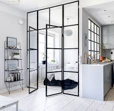 glass bedroom wall coco lapine design