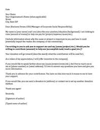 Letter To Ask For Raise Donation Request Letters Asking For Donations Made Easy
