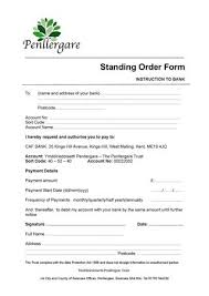 Standing Order Form By Penllergare Valley Woods Issuu