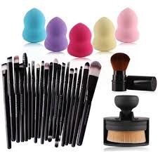 20 pcs eye makeup brushes set 5 pcs beauty blenders ster in south africa