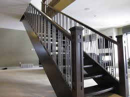 Modern Metal Stair Railings Interior Stair Railing Ideas Interior