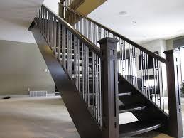 Modern Metal Stair Railings Interior Stair Railing Ideas Interior