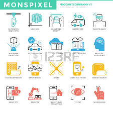 71 wired city cliparts stock vector and royalty wired city wired city flat thin line icons set of modern technology pixel perfect icons
