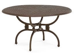 artemis metal round dining table