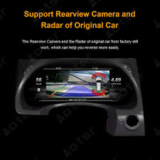 Android 7 <b>Instrument Panel Replacement Dashboard</b> Entertainment ...