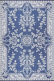 oriental garland blue white