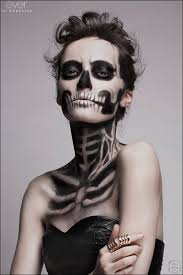 grim reaper a super easy tutorial 66 makeup ideas that can totally creep you out and