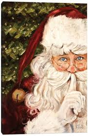 <b>Santa</b> Claus - Canvas <b>Prints</b>