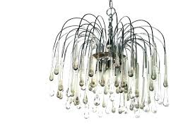 teardrop chandelier crystal parts teardrops for metro modern tear drop