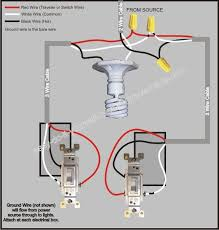 three way switch wiring diagrams one light Easy 3 Way Switch Diagram 3 way switch wiring diagram easy 3 way switch diagram with two lights