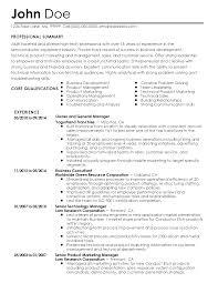 Horticulture Resume Landscaping Resume