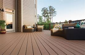trex enhance grooved edge decking board