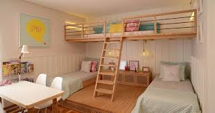 This Cute Girls Bedroom Was Designed With A Lofted Playspace | CONTEMPORIST