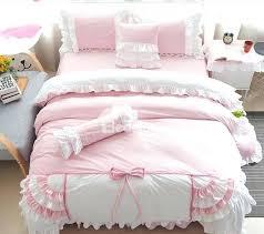 super soft princess style lace trim 4 piece velvet duvet cover sets vintage princess duvet cover