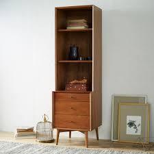 mid century modern bookshelf. Mid-Century Bookcases - Acorn Mid Century Modern Bookshelf S