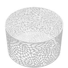 round outdoor coffee table. Delighful Table Modern Round Metal Coffee Table Brilliant White For Outdoor Table