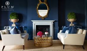 Navy Blue Inspirations For Spring Home Decor Ideas Modern Navy Blue Living Room Chair