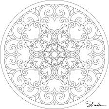 Small Picture Dont Eat the Paste Valentine Mandalas coloring pages Oodles