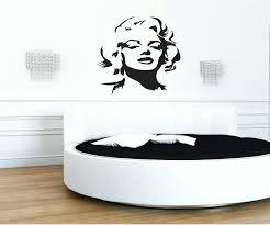 wall decals marilyn monroe minimalist wall decor wall decor minimalist wall  decor wall decals