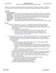 ... Wonderful Looking Mobile Testing Resume 10 Sample Manual Testing  Resumes Resume Qa Tester ...