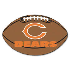 fanmats nfl chicago bears brown 2 ft x 3 ft specialty area rug