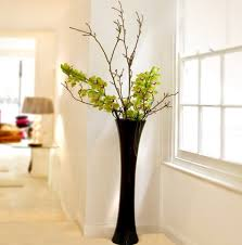 Glass Vases Extra Large Glass Floor Vases Contemporary Floor