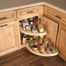 Kitchen Cabinets Lazy Susan Picture Of Kitchen Blind Corner With Wood Pull Out Lazy Susan Storage