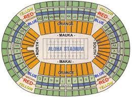 Aloha Stadium Seating Chart Related Keywords Suggestions