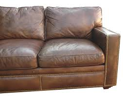 distressed leather sectional homesfeed distressed leather sofa