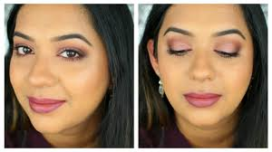 holiday makeup wedding guest makeup soft glam makeup tutorial for indian skintone beautylashes19