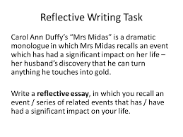 reflective writing reflective writing is a type of writing in  5 reflective