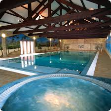indoor pool and hot tub. Pool With Jacuzzi - Indoor Swimming And Hot Tub