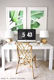office room decor ideas. large scale banana leaf prints. tropical interiortropical decortropical bedroom office room decor ideas i