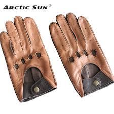 2019 <b>Men'S</b> Genuine <b>Leather Gloves Male</b> Breathable Fashion ...