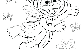 Sesame Street Coloring Pages Page Sheets Alphabet For Kids Sesame