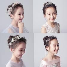 子どもフラワーティアラ カチューシャ ヘアバンド 子供用 フォーマル 髪