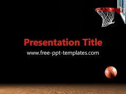 Basketball Powerpoint Template Free Basketball Ppt Template