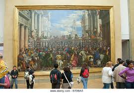 wedding at cana stock photos & wedding at cana stock images alamy The Wedding At Cana Painting By Paolo Veronese the wedding at cana les noces de cana by paolo veronese inside the louvre, Paolo Veronese Inquisition