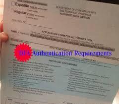 Dfa Authentication Of Documents Requirements Dfa San Fernando