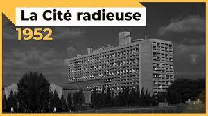 14 Octobre 1952 Inauguration De La Cité Radieuse De Le Corbusier à Marseille