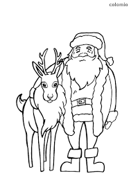 Coloring pages are fun for children of all ages and are a great educational tool that helps children develop fine motor skills, creativity and color recognition! Reindeer Coloring Pages Free Printable Reindeer Coloring Sheets