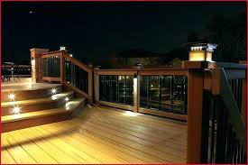 outdoor deck lighting ideas. Fantastic Outdoor Deck Lighting Solar Ideas . R