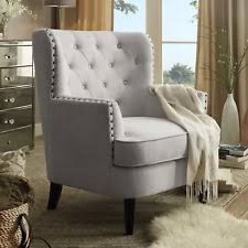 accent chair living room. modern accent chair button tufted armchair living room furniture beige polyester