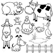 Printable Pictures Of Farm Animals In Color With Activities For