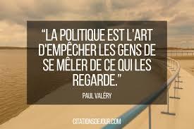 Citation De Paul Valéry Sur La Politique